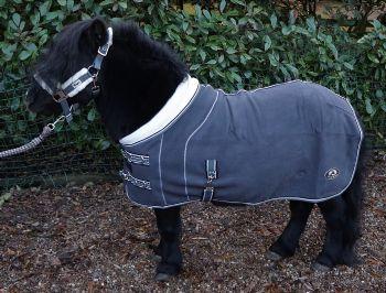 Ruggles Shetland Double Bonded Fleece - Grey